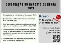 Declaração do Imposto de Renda - Contador