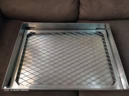 Escorredor de fritura 40 x57 de inox