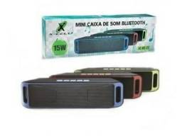 Mini caixa de som bluetooth x-cell