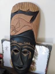 Máscara de folha de casca de coqueiro - Punta Cana