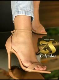 Sandalia Nude salto 10cm