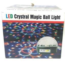 Globo magico led crystral magic ball light