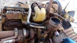 Motor de caminhão caterpillar