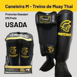 Caneleira M - Treino de Muay thai