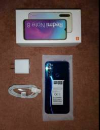 Xiaomi Redmi note 8 64gb novo na caixa.