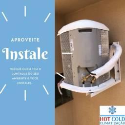 Instalação em ar condicionados