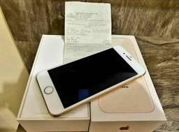 Vendo IPhone 8 Rose Completo com todos Acessórios.