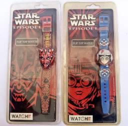 Relógio Star Wars  os 2(dois)