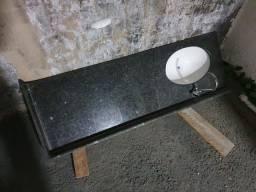Pia para banheiro com Cuba,  sem torneira