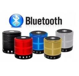 Caixinha De Som Bluetooth Mini Speaker Pen drive Usb P2 Radio