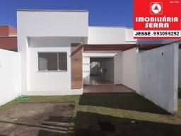 JES 002. Casa nova na Serra de 66M² em Jacaraipe 2 quartos com suíte.