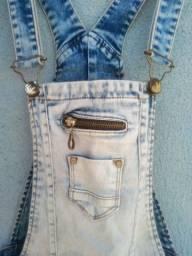 Macacão jeans Alvo Modas