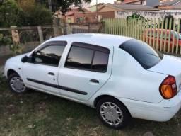 Carro 2001 renault clio sedan 1.6 16 válvulas