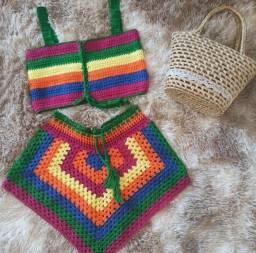 Conjunto de croche