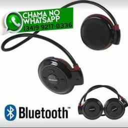 Fone Esportivo TF 503 Bluetooth Cartão Sd* Fazemos Entregas