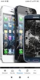 Baratão telas pra celular Samsung xaomi lg iPhone motorola