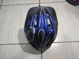 Capacete Ciclismo/ Ciclista - Masculino Semi Novo