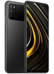 Celular Poco M3 64gb power Black Novo!