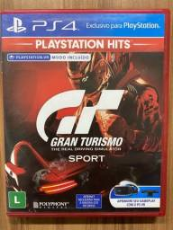 Gran Turismo Sport - Ps4 - Midia Fisica