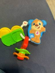 Brinquedo/Mordedor musical fisher price
