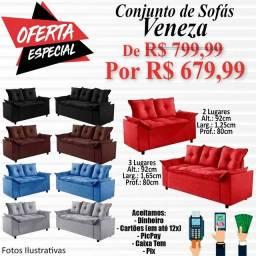 Promoção de sofás