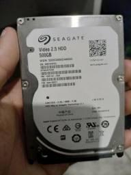 HD Seagate 2,5 500gb