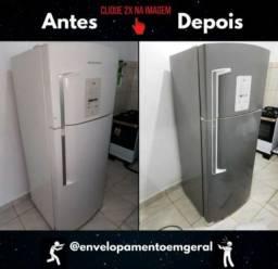 Envelopamento geladeira/bebedouro