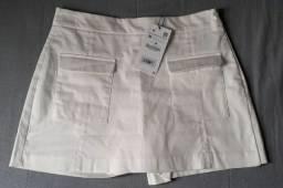 Shorts Saia off white Zara