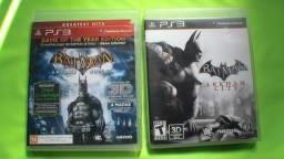 Batman Arkham City E Arkham Asylum,mídia Física,promoção