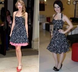 Vestido igual ao de Sandy e Taylor