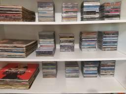 CDs e disco de vinil