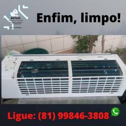 Manutenção / limpeza / higienização de ar condicionado