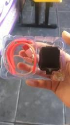 Relógio smartwath V6 (novo na caixa)