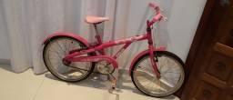 Duas Bicicleta infantil aro 20 rosa pink