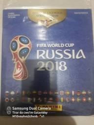 Álbum copa do Mundo da Rússia  2018 completíssimo