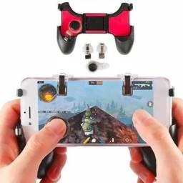Gamepad Controle Para Celular 5 Em 1 Gatilho + Analógico 4.5-6inch