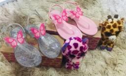 Sandálias infantil novas vários modelos nas fotos