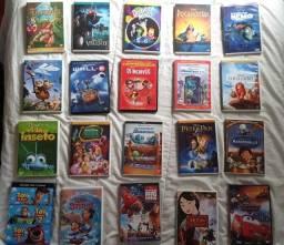 Coleção Dvd's Disney