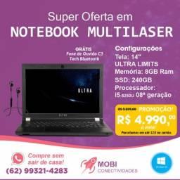 Notebook Ultra Limitless I5-8250u - 8gb 240gb Ssd (novo)
