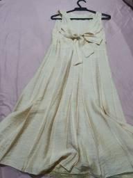 Vestido Midi Rosa Pale Folic Collection