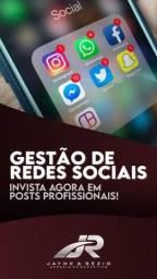 Material de divulgação e engajamento de empresas e perfil pessoal