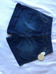 shorts novo com etiqueta