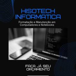 Formatação e Manutenção em Computadores e Notbooks