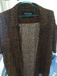 Camisa animal Print GG