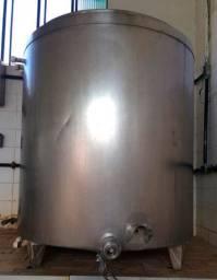Tanque Pasteurizador Iogurteira 500 Litros Inox + Misturador + Motor Baixa Rotação