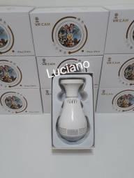 Câmera lâmpada wifi
