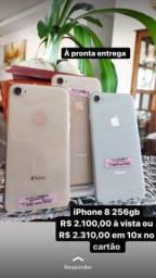 iPhone 8 256gb Gold e Silver