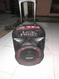 Caixa de som amplificada amvox 280w semi-nova