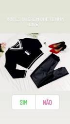 Blusa e calça  legging