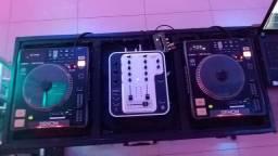 Par de CDJ Denon dn-s 3000 + Mixer